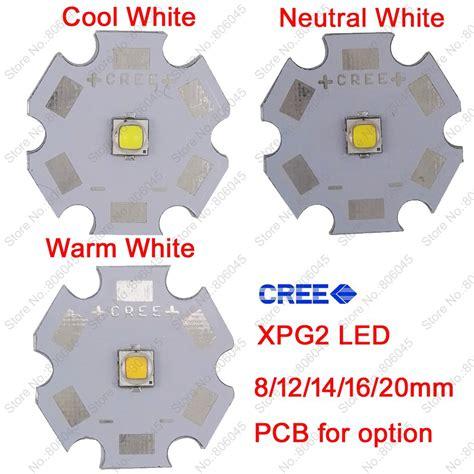 High Power Led 5w Warm White 10x 5w Cree Xpg2 Xp G2 High Power Led Emitter Diode Cool