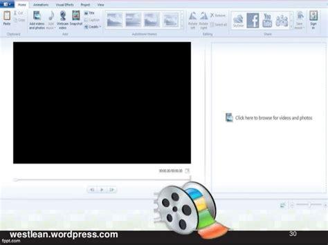 tutorial using windows movie maker tutorial in making a video using windows movie maker