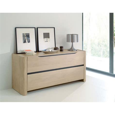 Commode Chene Massif by Commode Lilou En Ch 234 Ne Massif
