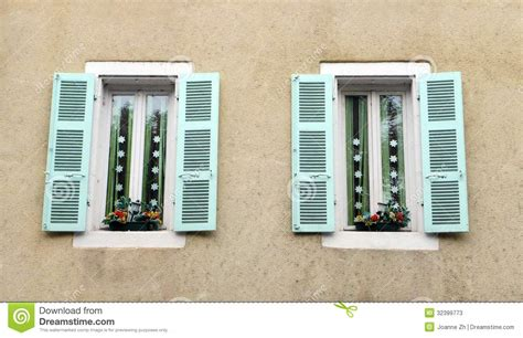 decorative windows for houses antique french house window decor stock photos image 32399773