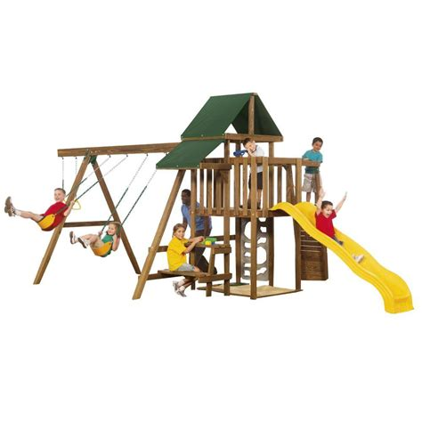 swing set anchors home depot swing n slide playsets steeple climber ne 3023 the home