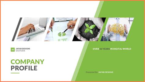design your company profile 7 sle company profile design company letterhead