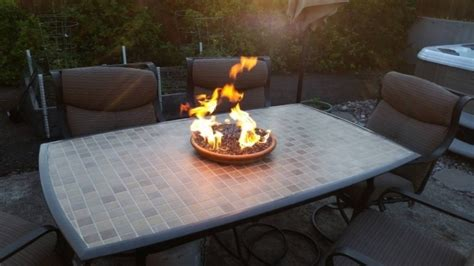Table Top Firepit Tabletop Gas Pit Pit Ideas