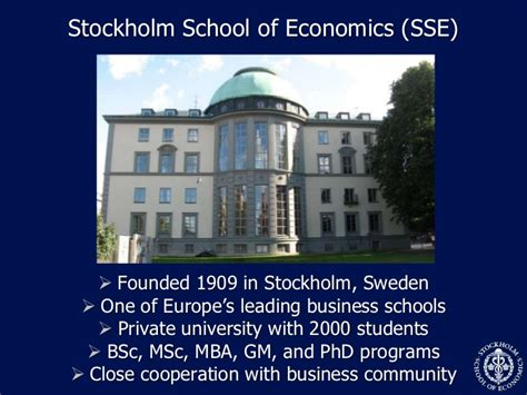 Mba Programs In Sweden by Going Live Innovating Business Education Through