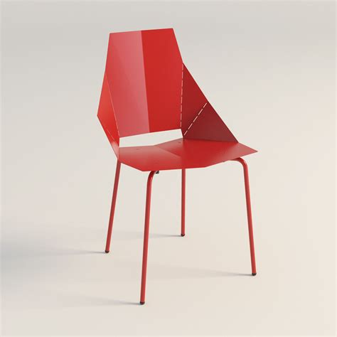 Real Chair Real Chair Dot 3d Model Max Obj 3ds Fbx Mtl