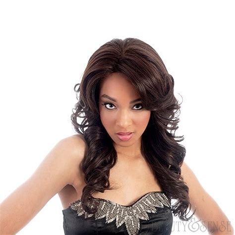 Vivica Fox Handmade Collection - vivica a fox handmade collection lace front wig bright