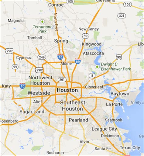 houston gims map map of greater houston indiana map