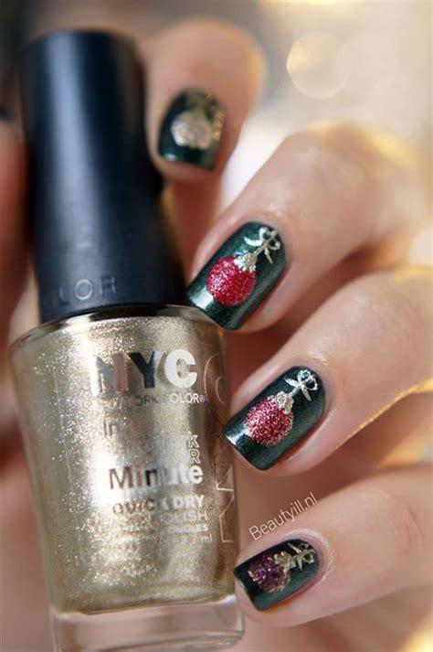 15 christmas ornament nail art designs ideas stickers