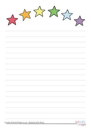 rainbow writing paper rainbow writing paper