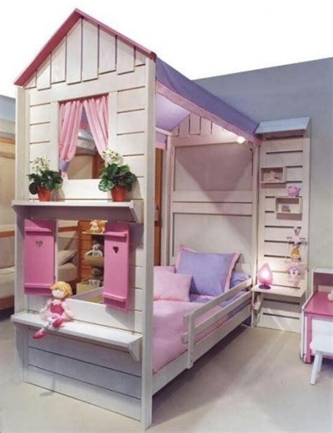 Beautiful Doll House Toddler Bed Just For Kids Doll House Bunk Beds