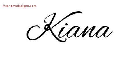 tattoo of name kiana kiana archives free name designs