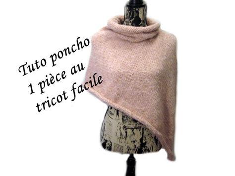 Modele Tricot Chale Poncho