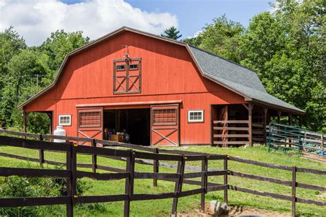 Lean To Barns Custom Horse Barns Ct Ma Ri Stables Riding Arenas The