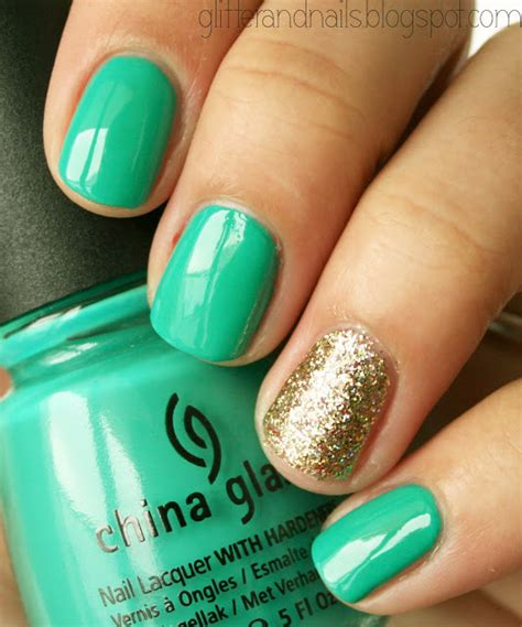 easy nail art green nail art one stitch two stitch