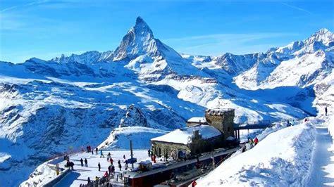 1 year skiing five luxurious ski resorts to visit this