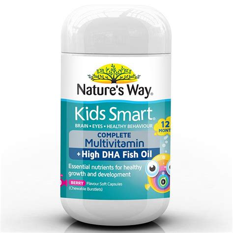 nature s way smart complete multi vitamin high dha