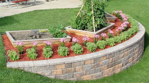 build  block retaining wall  beautify  steep slope