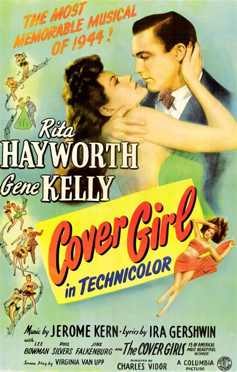 Cover Girl 1944 Classic Movie Review   movie lovers reviews cover girl 1944 gene kelly busts