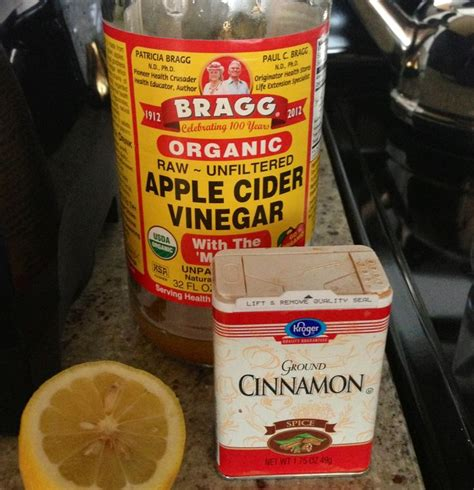 Vinegar Cinnamon Honey Detox by Detox Drink 1 Glass Of Water 12 16 Oz I Use Green Tea 2