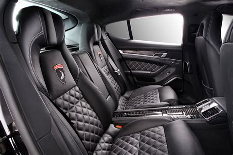Porsche Panamera Black Interior by Porsche Panamera Stingray Carbon Black Interior Topcar