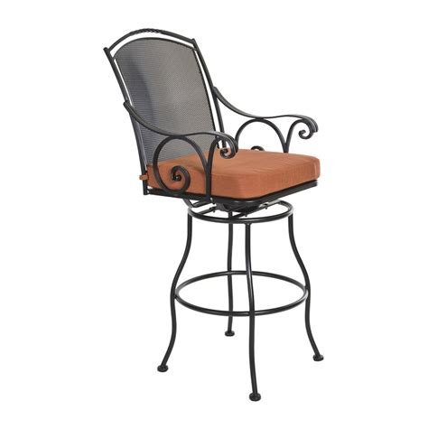 outdoor swivel bar stools with arms 17 best images about bar stools with arms on pinterest