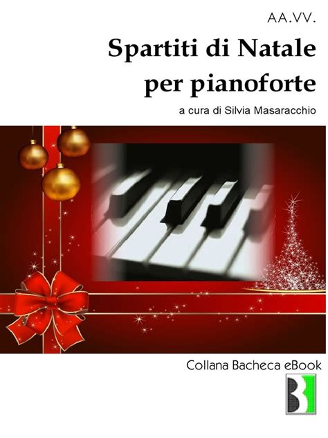 testi natalizi spartiti natalizi per pianoforte