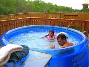 Backyard Pools Portable Portable Swimming Pools To Save You During Summer Days