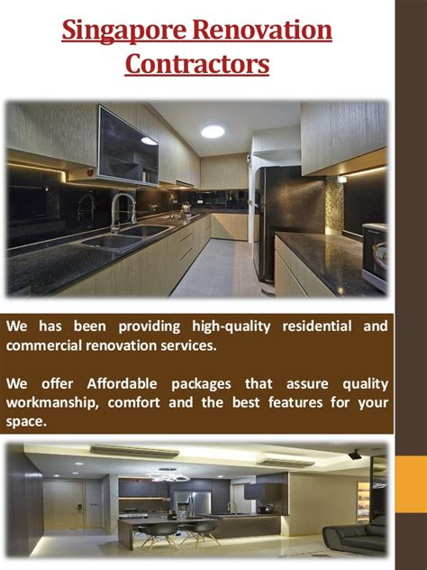 design and build contractors singapore renovation contractor in singapore