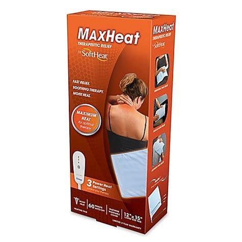 heating pad bed bath and beyond kaz softheat 174 moist dry heating pad bed bath beyond