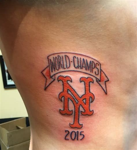 Christian Tattoo Artist Kansas City | say what mets fan doesn t regret premature 2015 world