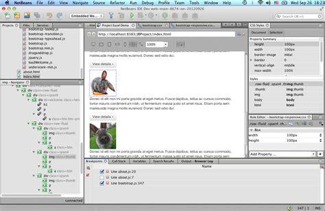 tutorial netbeans html5 netbeans ide 7 3 1 release information