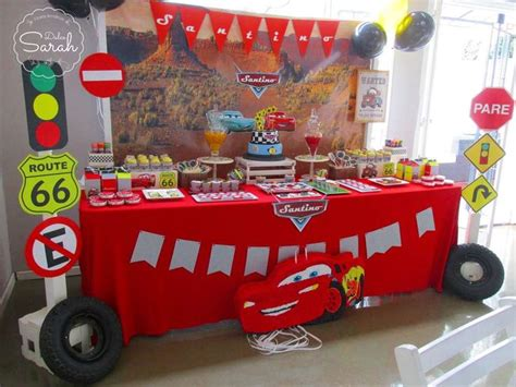 283 Best Disney Cars Party Ideas Images On Pinterest Disney Cars Centerpiece Ideas