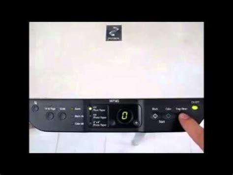 cara reset mp145 error e27 printer canon mp145 error 27 youtube