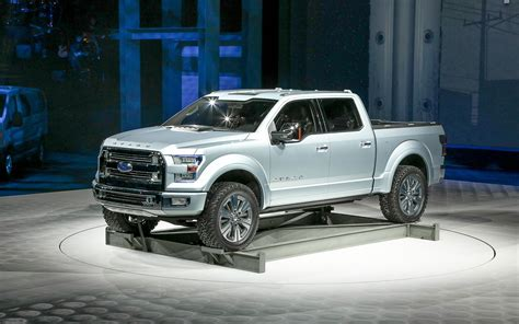 future ford ford atlas concept 2013 detroit auto show truck trend