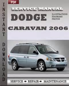 dodge caravan 2006 service manual pdf download