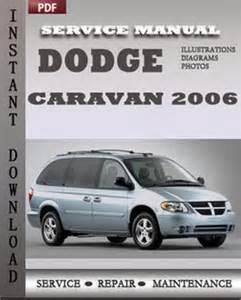 dodge caravan 2006 service repair manual instant download