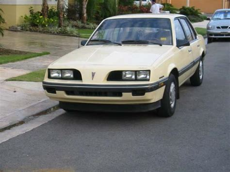 1987 Pontiac Sunbird by Another Toyonitro 1987 Pontiac Sunbird Post Photo 4299614