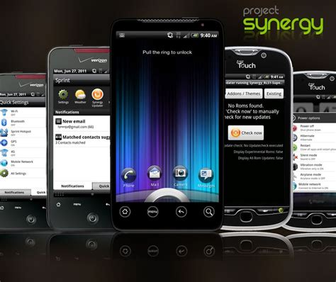 synergy android android stock rom synergy rc2 htc droid custom rom