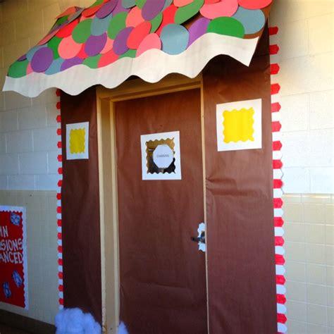 gingrbread house on school door 17 best images about class door ideas on