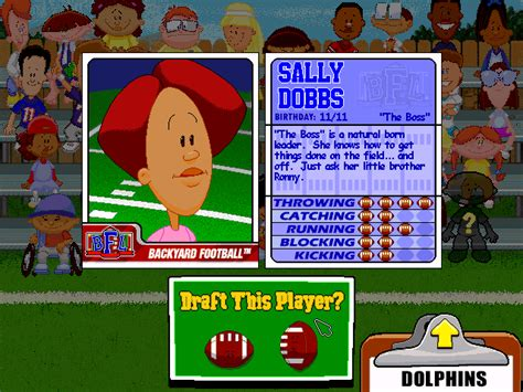 backyard football characters backyard football free online specs price release date redesign