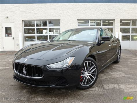 black maserati ghibli nero black 2014 maserati ghibli s q4 exterior photo