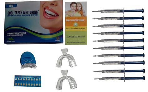 cool teeth whitening kit  syringes   carbamide