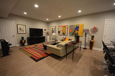 Vinyl Flooring For Basement Basement Flooring For Unpredictable Oregon Weather