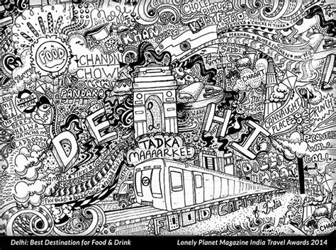 doodle artists india doodle play a doodle project on behance