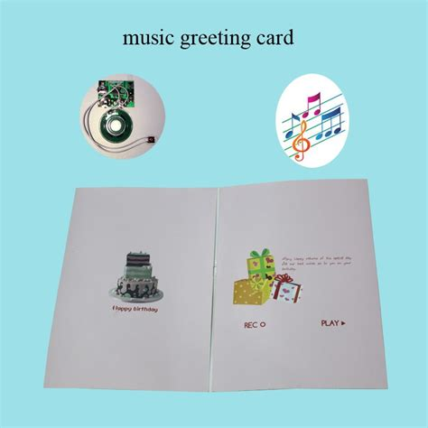how to make a musical greeting card musical greeting cards for birthday greeting