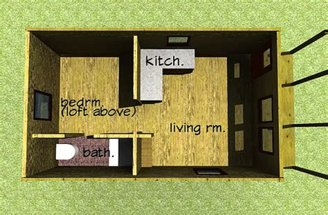 12x24 Cabin Plans by 12x24 Cabin Plan This Floor Plan Also Features A Loft