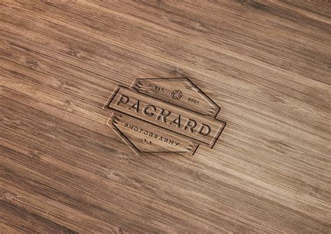 photoshop tutorial logo in wood wood engraved logo mockup with photoshop
