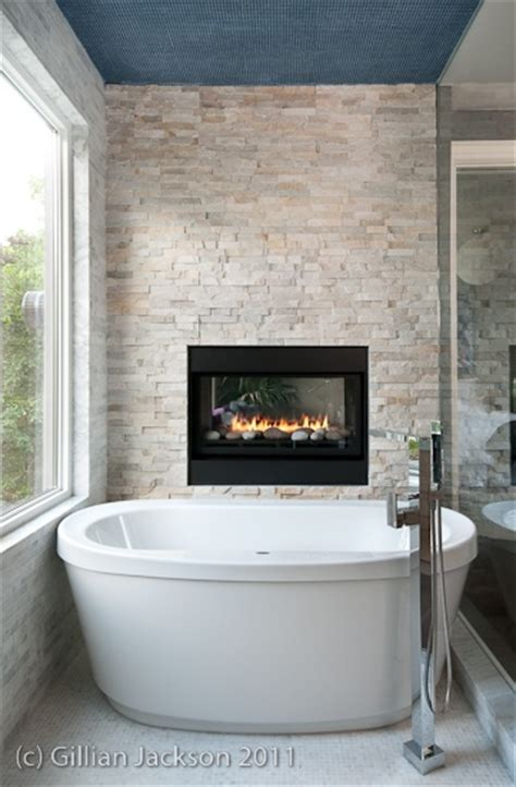 fireplace in bathroom wall 1000 ideas about fireplace feature wall on pinterest