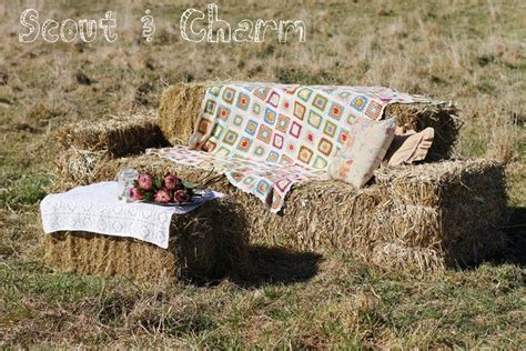 hay bale sofa 1000 ideas about hay bale couch on pinterest backyard