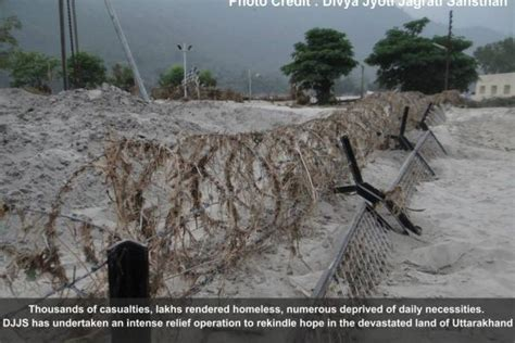 earthquake uttarakhand djjs uttarakhand flood relief operation update djjs